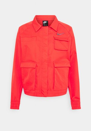 Chaqueta fina - light crimson