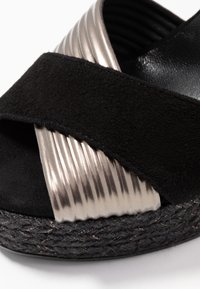 Kanna - NICOLE - High heeled sandals - black - 2