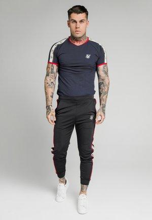 PREMIUM RINGER GYM TEE - Camiseta estampada - navy