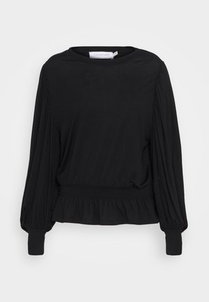 SIALINA BLOUSE - Blouse - pitch black