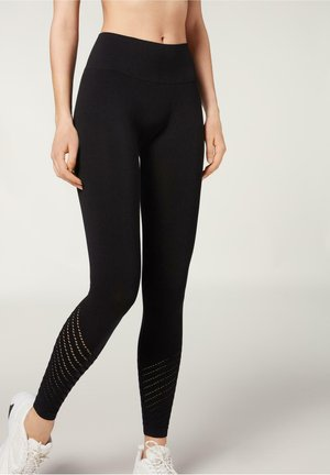 SEAMLESS - Leggings - Trousers - nero