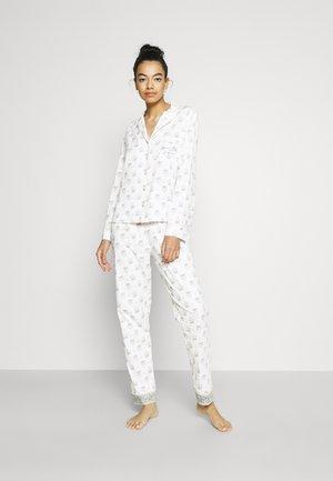 MASCULINE OPTIMISTE LONG - Pyjama - white
