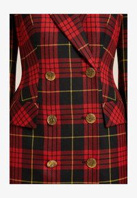 Luisa Spagnoli - GEMINI - Shirt dress - red, black - 2