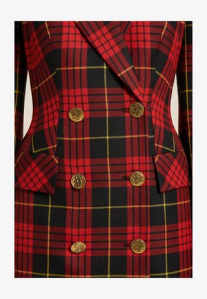GEMINI - Shirt dress - red, black
