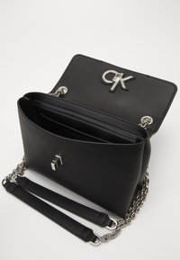 Calvin Klein - FLAP XBODY - Sac bandoulière - black - 4
