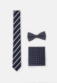 Jack & Jones - JACTONY NECKTIE GIFTBOX SET - Tie - navy blazer - 0