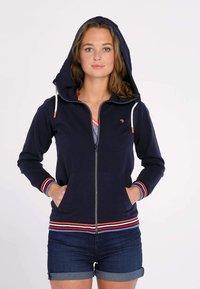 J&JOY - veste en sweat zippée - blauw - 3