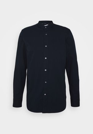 STAND COLLAR LIQUID TOUCH - Shirt - blue