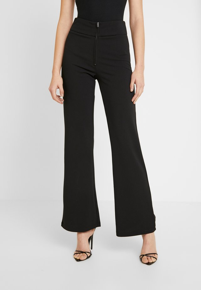 YASVICTORIA WIDE PANT - Trousers - black
