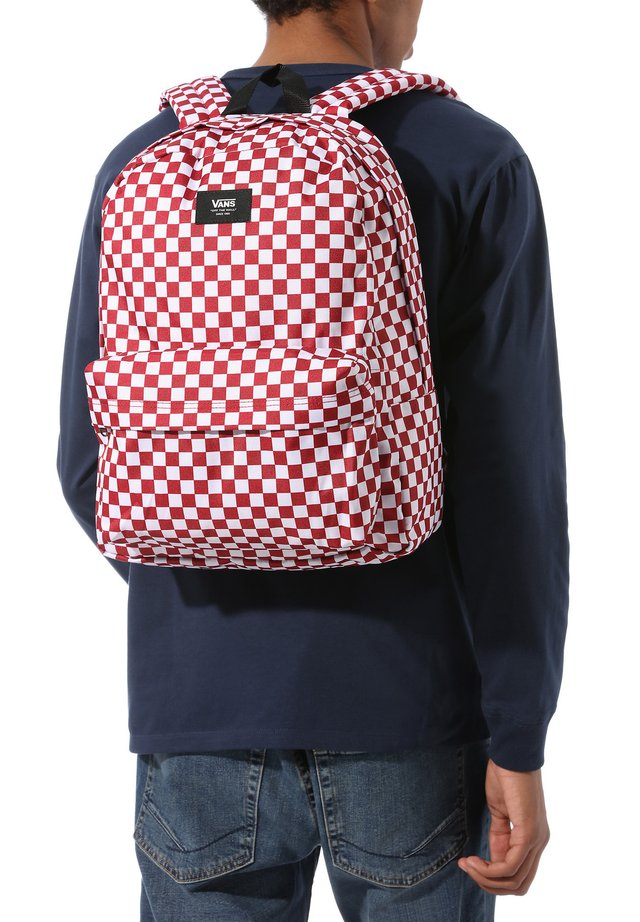 OLD SKOOL  - Reppu - chili pepper checkerboard