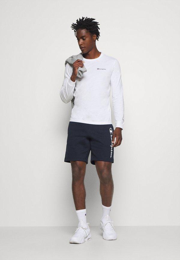 Champion Bluzka z długim rękawem - white/biały Odzież Męska NQHX