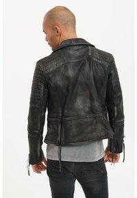 Trueprodigy - BRYAN - Leather jacket - black - 3