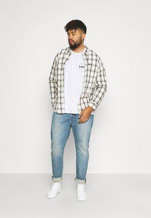 2 PACK - T-shirt med print - white/dress blues
