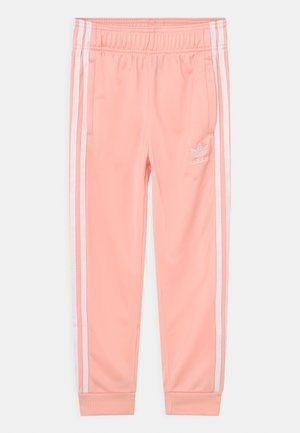 UNISEX - Pantalones deportivos - haze coral/white