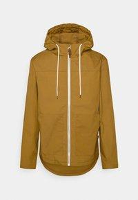 REVOLUTION - HOODED JACKET - Summer jacket - yellow - 0