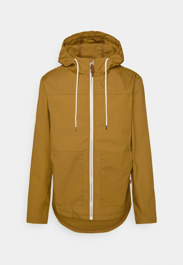 HOODED JACKET - Korte jassen - yellow