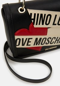 Love Moschino - BORSA - Handtas - black - 4