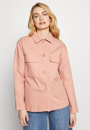 OVERSIZE POCKET DETAIL - Skjorta - pink