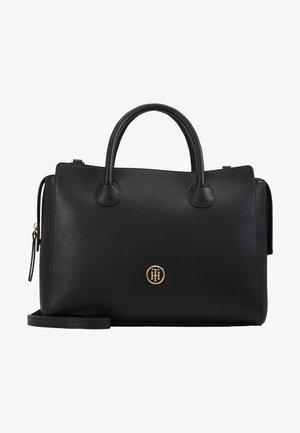 CHARMING SATCHEL - Handtasche - black