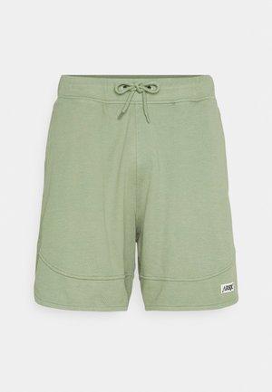 BOX LOGO HOOP - Shorts - oil green