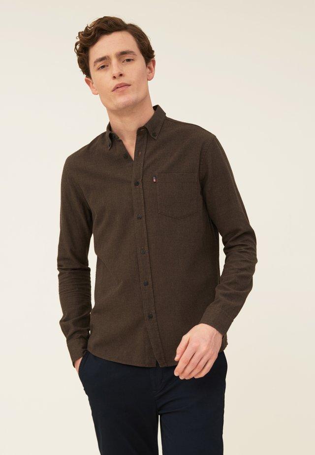 Skjorta - brown melange