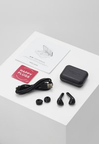 Happy Plugs - AIR 1 TRUE WIRELESS HEADPHONES - Headphones - black - 3