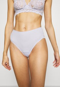 Hanro - MOMENTS MIDI SLIP - Briefs - lavender frost - 0