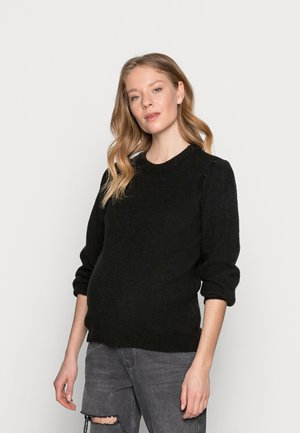 PCMPAM ONECK - Sweter - black