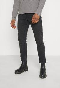 Nudie Jeans - LEAN DEAN - Jeans slim fit - nightrider - 0