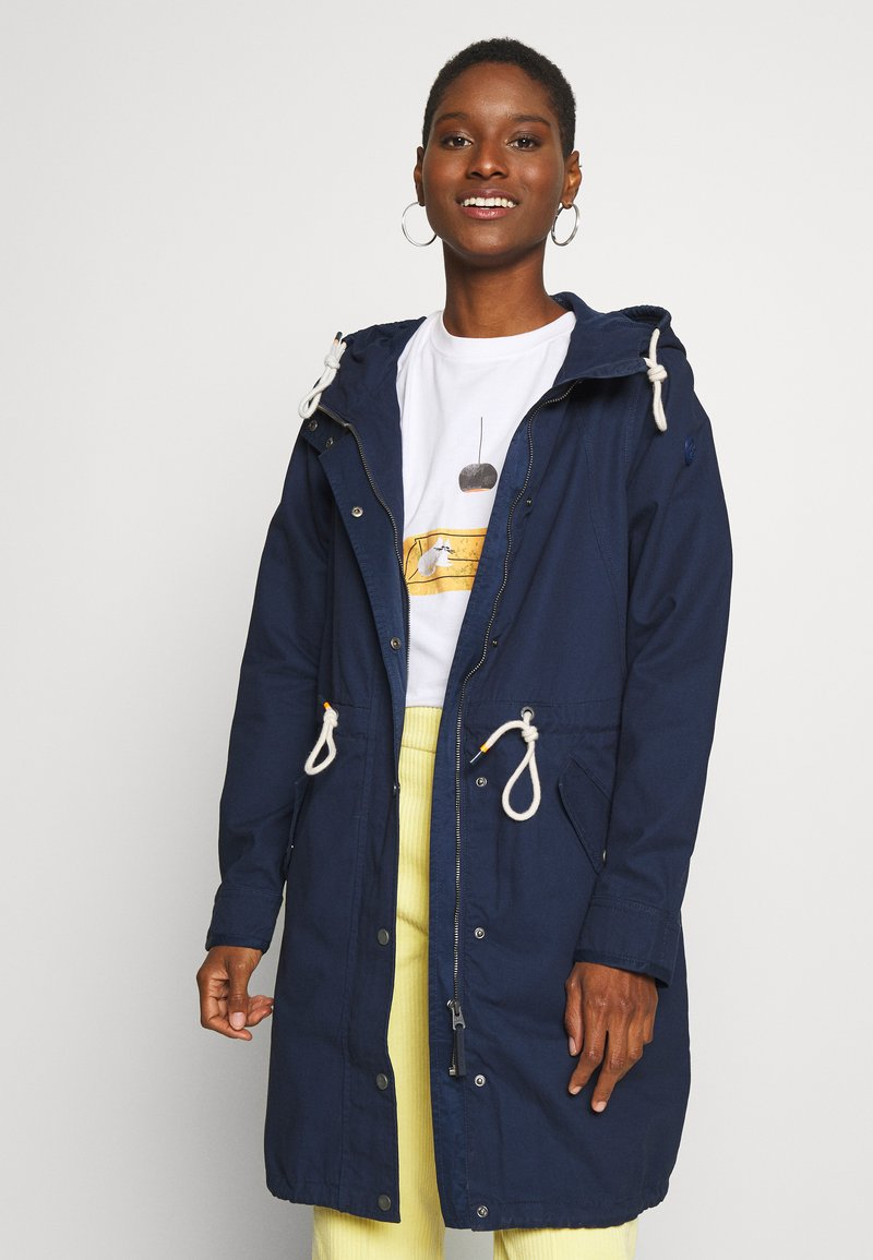Q/S designed by - MANTEL - Parka - navy
