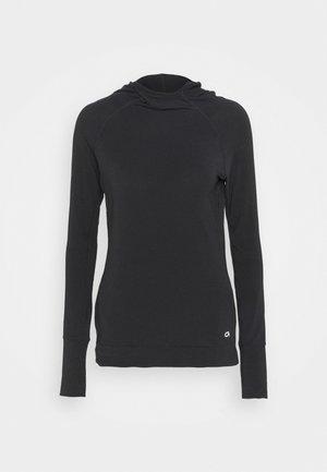 HOOD - Camiseta de manga larga - true black