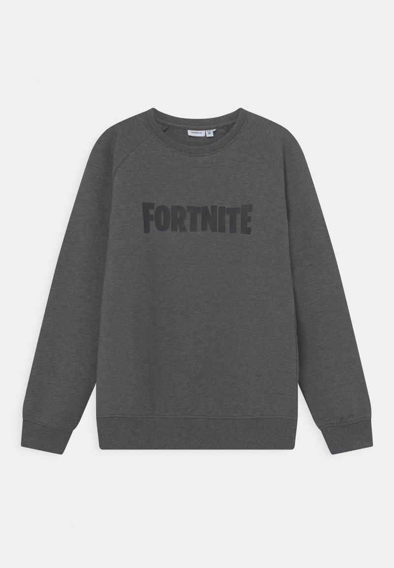 Name it - NKMFORTNITE FRASER  - Sweater - mottled dark grey