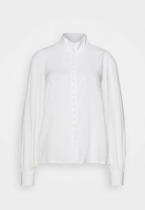 OBJCADI  - Button-down blouse - cloud dancer