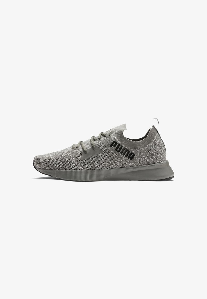 Puma - PUMA FLYER RUNNER ENGINEERED KNIT MEN'S RUNNING SHOES MALE - Trainers - ultra gray- white- black