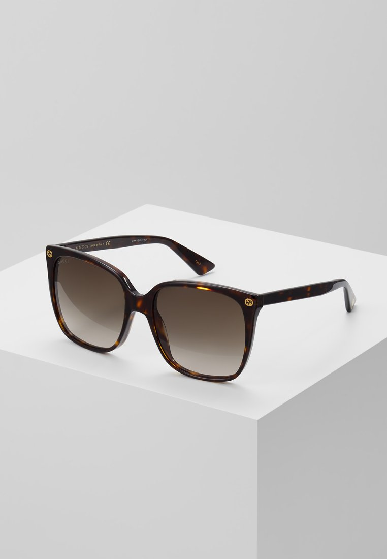 Gucci - Okulary przeciwsłoneczne - havana/brown