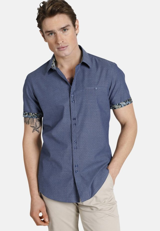 HIDDENTREASURES - Shirt - blue