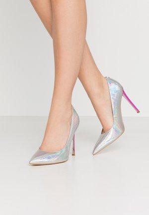 CREW - High heels - argent