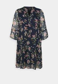 Vero Moda Curve - VMKAY DRESS - Sukienka letnia - navy blazer - 5