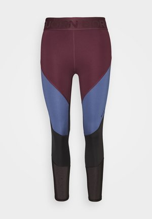 CHIA BLOCKED  - Leggings - winetasting
