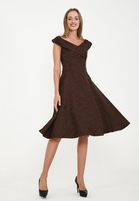 Madam-T - Cocktail dress / Party dress - braun - 1