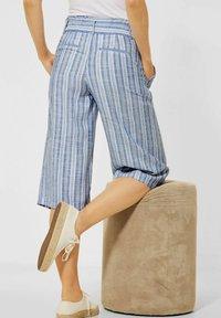 Street One - MIT WIDE LEGS - Trousers - blau - 2