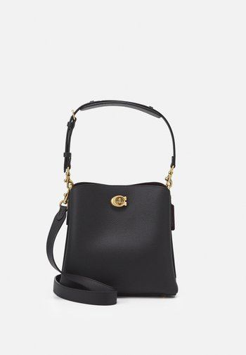 WILLOW BUCKET BAG ADJUSTABLE - Kabelka - black
