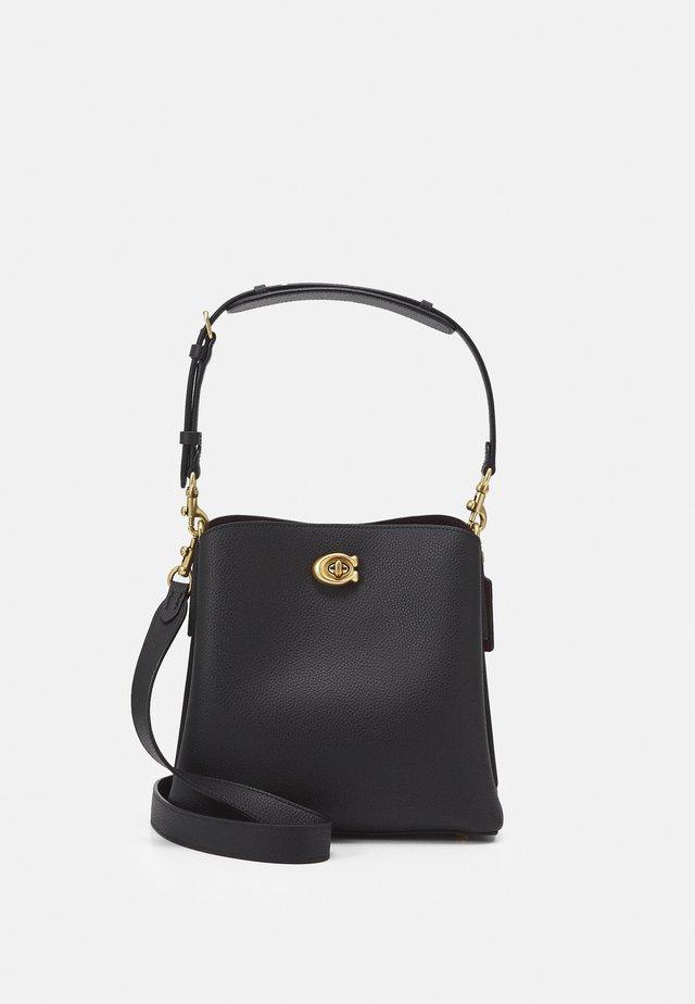 WILLOW BUCKET BAG ADJUSTABLE - Bolso de mano - black