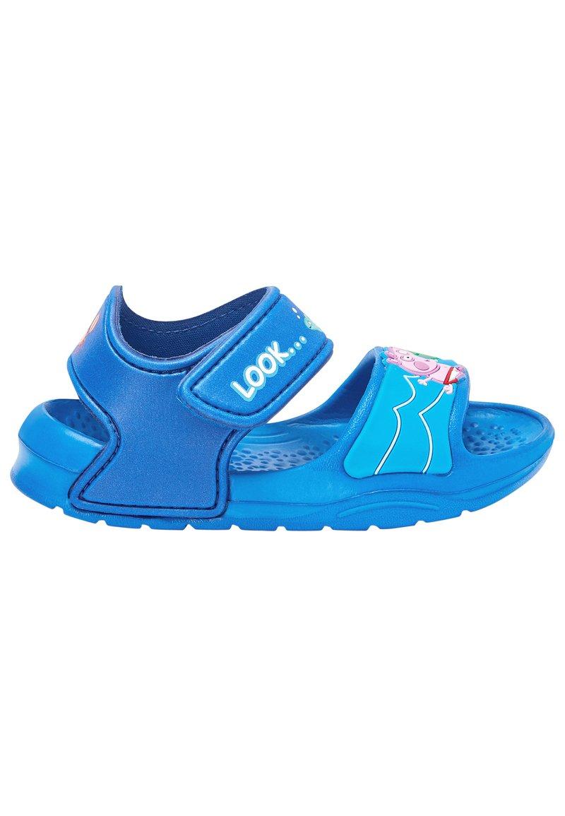 Next - PEPPA PIG POOL SLIDERS - Walking sandals - blue