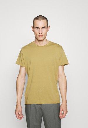 ROLL NECK TEE - T-shirt basic - khaki lime
