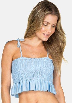 LISOS - Bikini top - blue