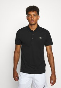 Lacoste Sport - CLASSIC KURZARM - Poloshirt - black - 0