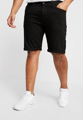 Jeansshort - clean black