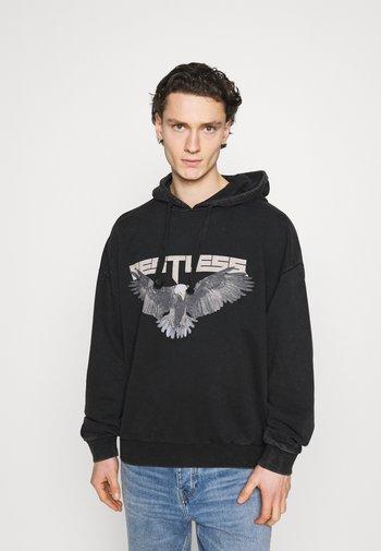 RESTLESS HOODIE - Sweatshirt - vintage black