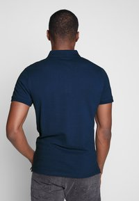 TOM TAILOR - BASIC WITH CONTRAST - Polotričko - blue